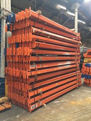 Pallet racking beams 3620mm, STOW, 110mm x 50mm closed box, 2000kg £18.00 + vat