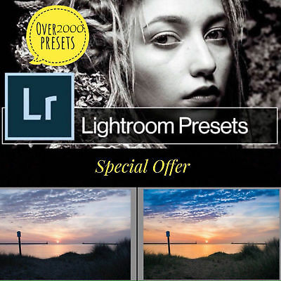 2000 quality Lightroom presets for PC and Mac (Email Delivery)