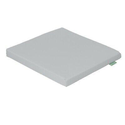 Grey Seat Chair Cushion Outdoor Garden Tie On Waterproof Pad Removable Cover
