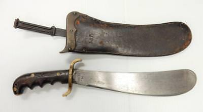 US M1904 Hospital Corp. Knife SA1912 with Leather Sheath& Belt Attachment   #H82