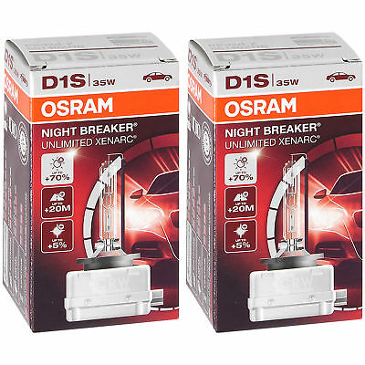 Set satz osram night breaker unlimited xenarc 2x D1S 35W PK32d-2 xenon brenner