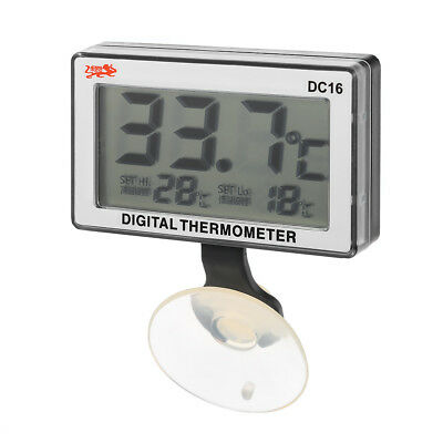 LCD Digital Aquarium Thermometer Submersible Meter £3.99 24HR DISPATCH FROM UK