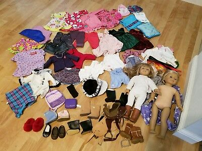 All American Girl 2 dolls + Tons of accessories (See PICS)