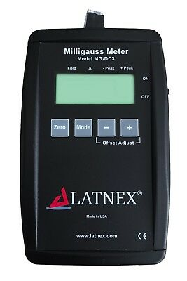 MG-DC3 DC Milligauss Meter and Magnetometer