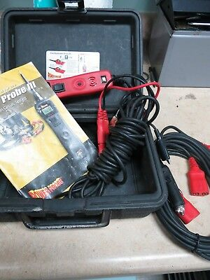 Power Probe 3 PowerProbe III PP3 circuit tester in RED In Case