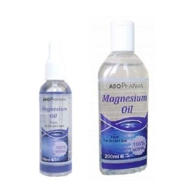 Magnesium Oil - Natural Product From Ancient Sea,muscles Cramps,nerves
