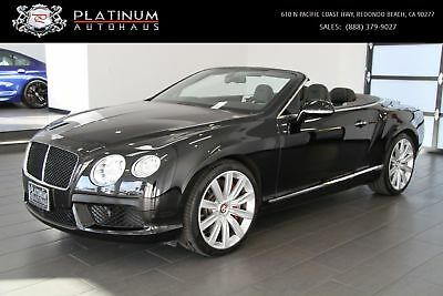 Continental GTC V8 Bentley Continental Black with 28,908 Miles, for sale!