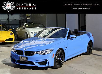 M4 ** Executive Pkg ** Yas Marina Blue Metallic BMW M4 with 29,759 Miles available now!