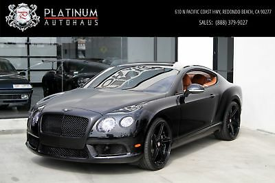 Continental GT V8 Black Bentley Continental with 28,787 Miles available now!