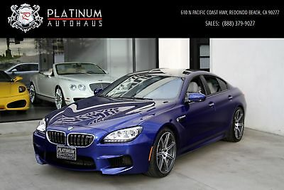 M6 Gran Coupe ** Competition Pkg ** 2014 BMW M6, San Marino Blue Metallic with 17,644 Miles available now!