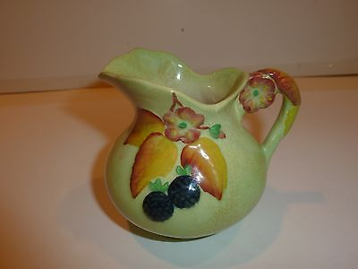 Vintage Carlton Ware Small Creamer, Flowers and Berries