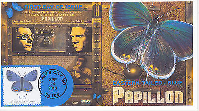Jvc Cachets - 2016 Eastern Tailed - Blue First Day Cover Fdc Butterfly Design #2