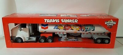 Chevron Travis Tanker Toy Truck New in box
