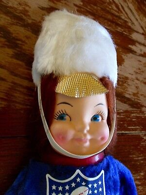 """Vintage NFL 'Things go Better with Coke' Coca Cola Plush Matching Band Doll 19"""""""