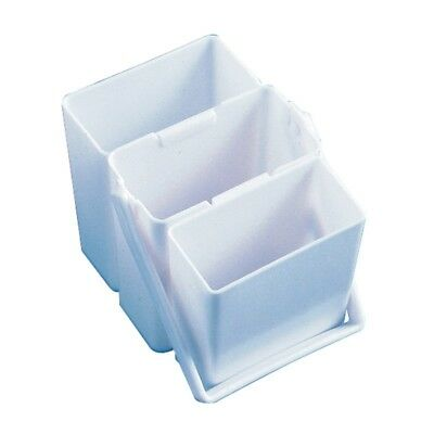 HOLBEIN BRUSH WASHER - 3 Containers that fit inside each other for easy storage