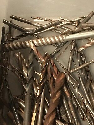 HUGE Lot of 125 assorted Drill Bits