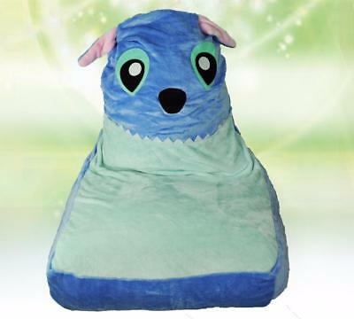 Stitch Blue Bean Bag Sofa Cover LARGE Size Adult Children's Baby Chair CLEARANCE