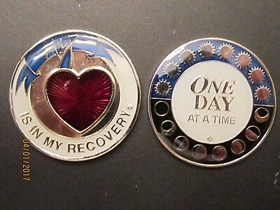 alcoholics anonymous, narcotics anonymous, medallions, recovery programs