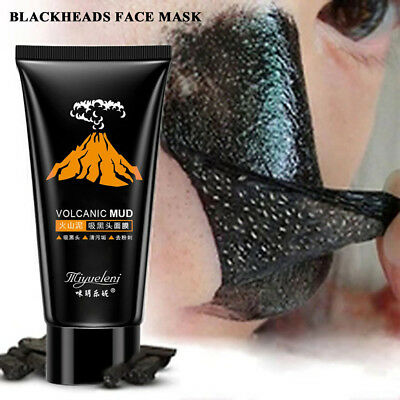 60G Blackhead Remover Mask Deep Cleansing Purifying Peel-off Black Mud Face Mask