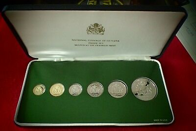 Coins Guyana 1976 Proof Set