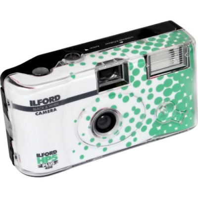 Ilford HP5 + Disposable Camera with Flash