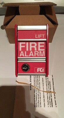 FCI Fire Alarm Pull Station - MS-2 Toggle Switch - NEW