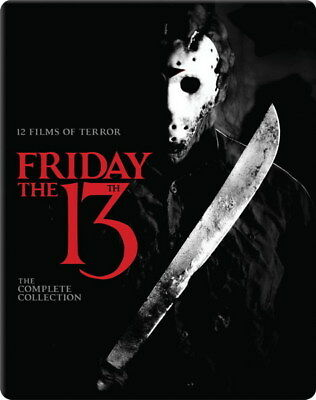 """002 Friday The 13th - USA Classic Horror Thriller Movie 24""""x30"""" Poster"""