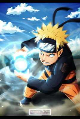 "400 Naruto - Last Uzumaki NINJA Fighting Japan Anime 24""x35"" poster"