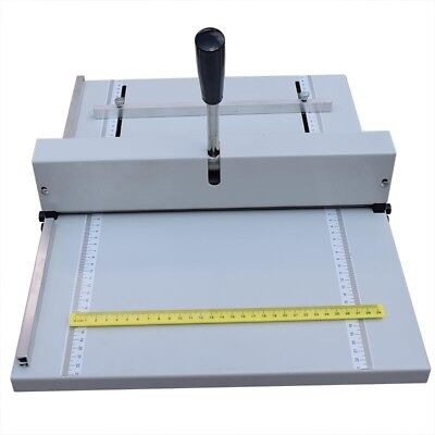 Manual 350 Paper Scoring Creasing Perforating Machine Scorer Creaser 2 in 1