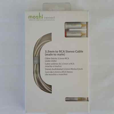 Moshi Connect 3.5mm to RCA Stereo Cable Male To Male