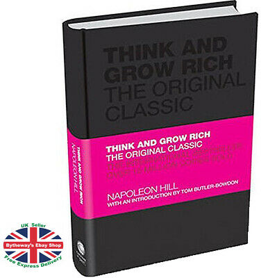 Think and Grow Rich The Original Classic - Napoleon Hill (Hardcover) *BRAND NEW*