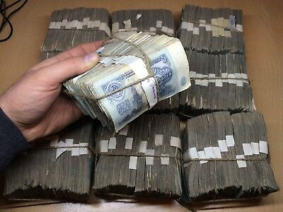 1.000 Notes !! Ussr Soviet Russian Antique Vintage Old Banknotes Currency Money