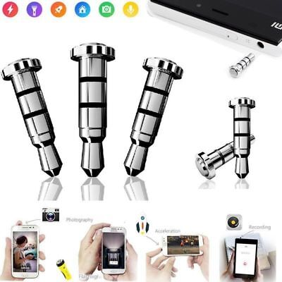 Android Smart Phone Button iKey Quick Click Gadget Pressy MiKey Dust Proof Plug