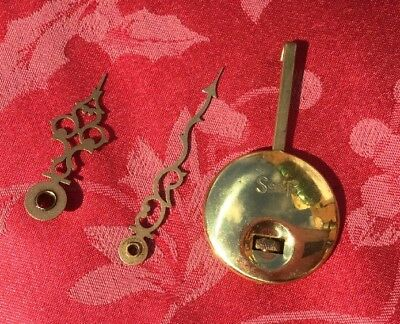 Genuine Smiths Clock Pendulum And Hands From 1/4 Chiming Clock