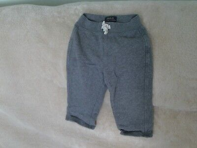 Baby Boys 18 Months -  Grey Joggers Leisure Sports Trousers - Polo Ralph Lauren