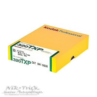Kodak 320TXP ~ 5x4 50 Sheets ~ Dated 03/18 ~ VERY SPECIAL LIMITED OFFER!!!
