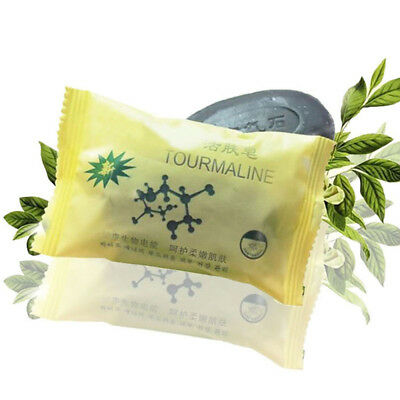 Personal Health Care Soap Tourmaline Soap Face And Body Acne Pimples Remover
