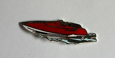 Pin's  Vedette rapide, Rouge