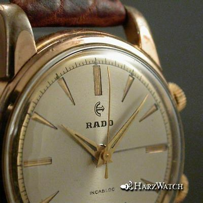 RADO ALERTIC ARMBANDWECKER  Cal. AS 1475  ca. 1955