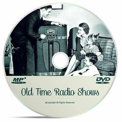 Gunsmoke OTR Western Collection 490 Old Time Radio Shows Huge Mp3 DVD