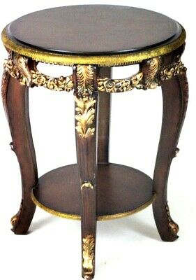 Vintage Mahogany Ornate Occasional Table - FREE Shipping [PL4339]