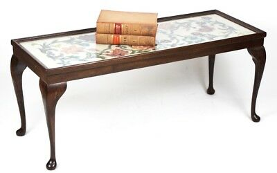 Vintage The Needlewoman Shop Coffee Table - FREE Shipping [PL3985]