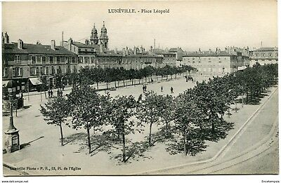 CPA - Carte postale -  France - Luneville - Place Léopold (CPV728