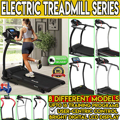 Electric Treadmill Collection Walking Run Exercise Equipment Machine Fitness Gym