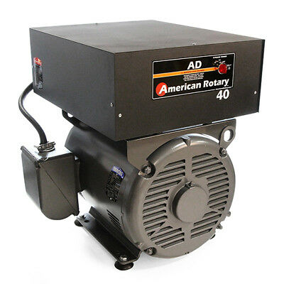 American Rotary AD40FM | Floor Mount AD Series 40HP Rotary Phase Converter 240V