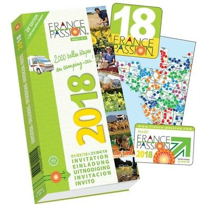 France Passion 2018 Motorhome and Campervan Aires Stopover Scheme