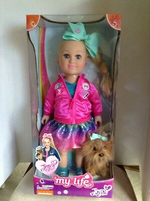 My Life As JOJO SIWA Doll With Puppy NIP