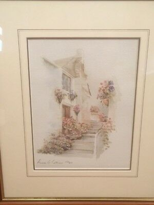 """ANNA THORNHILL /""""FLIRTY/"""" Hand Signed Limited Edition Lithograph"""