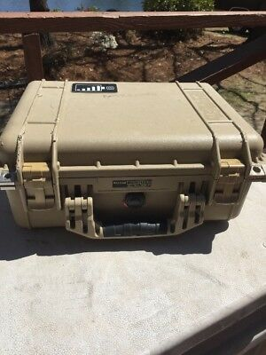 Genuine Pelican 1450 Case (Desert Tan) ...Free Shipping