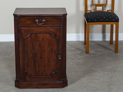 Antique English George III Antique English Mahogany Cabinet, England circa 1780